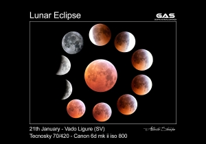 Lunar Eclipse - January, 21st, 2019